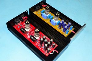 Image 4 - X 10D 2.0 original circuit HiFi 6N11 tube buffer audio signal tube preamplifier With AC12V power adapter