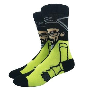 Cartoon Rabbit Sock Casual Hip Hop Creative Soft Comfortable Funny Novelty Skateboard socks Men Calcetines Hombre Divertido 17