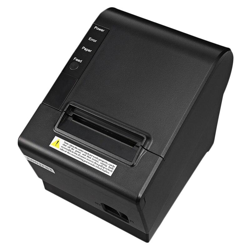 Small Pos Printer 200Mm/S 80Mm Receipt Thermal Printer with Usb Lan Ethernet Port Auto Cutter Bill EU Plug|Printers| |  - title=