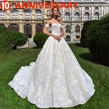 Baziiingaaa роскошное свадебное платье с v образным вырезом