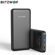 Blitzwolf BW P9 電源銀行 10000mA 18 ワット QC3.0 タイプ c ポート powerbank 充電器バトリー externe 高速充電 11 xiaomi