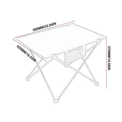 dobravel portatil acampamento mesa tenda mesa piquenique aluminio ao ar livre toalha
