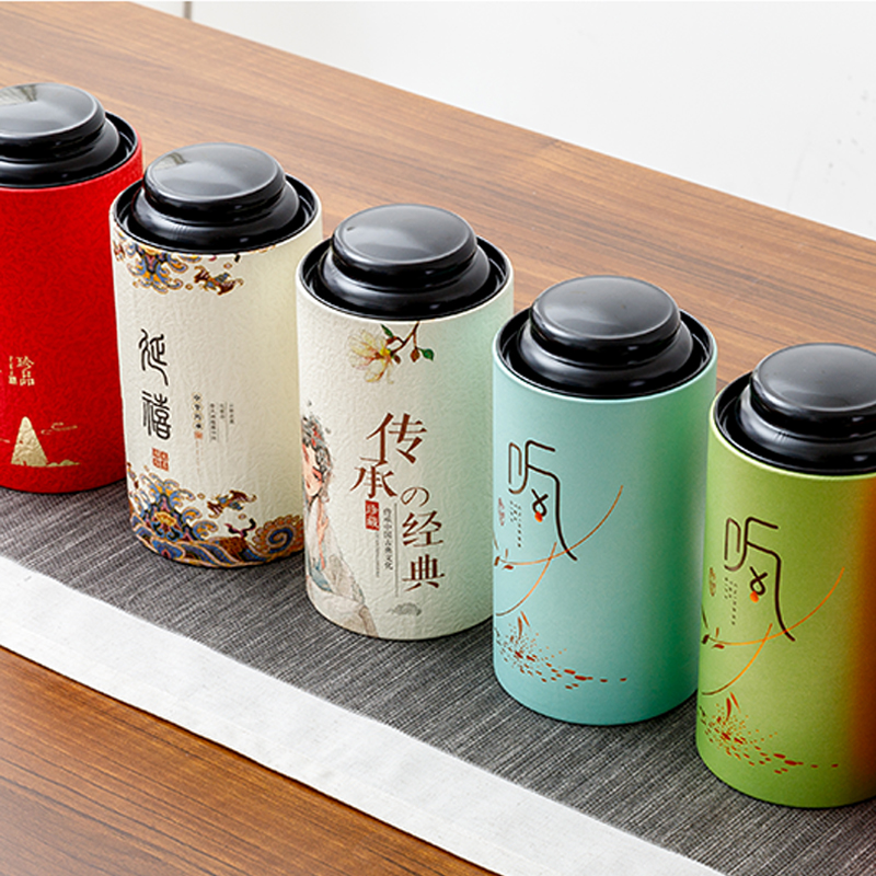Star Packaging Packaging For Flower Tea And Nutrition Powder Paper Tube Cans