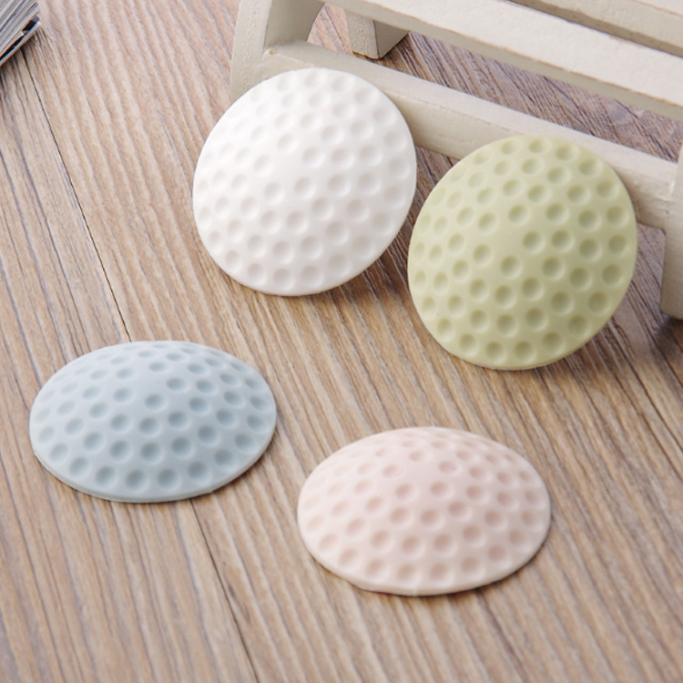 Thick Silica Gel Wall Crash Cushion Door Hanging Mute Muffler Anti-Fender Door Handle Door Lock Protection Cushion Anti-vibratio