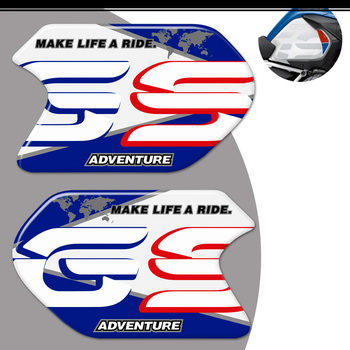 R 1200 GS R1200 GSA Stickers For BMW R1200GS Stickers Protector Knee Tank Pad Fender Windscreen Adventure Trunk Cases 2016 2018 image