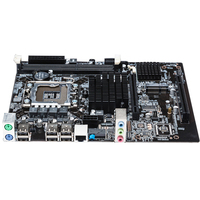 Large Memory Capacity Office Main Desktop USB Ports Dual Channel Professional Multi Slots Computer Motherboard For LGA 1366 DDR3