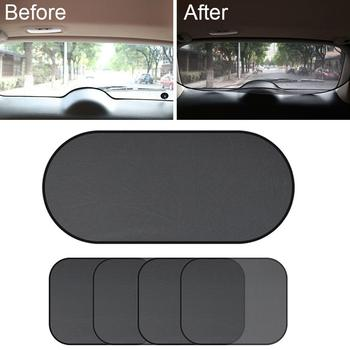 New 4PCS Car Window Sunshade Cover Block For Kids Car Side Window Shade Sunshades Sun Shade Cover Visor Shield Screen Hot image
