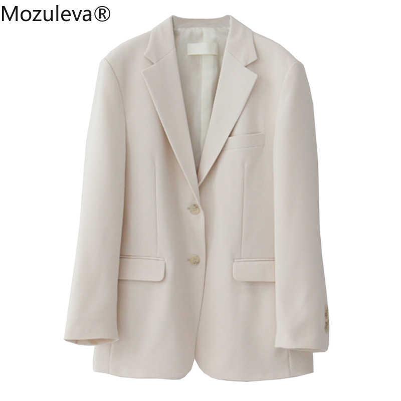 Mozulevat Allentato della Tuta Sportiva del Rivestimento Delle Donne del Vestito Primavera Estate Femminile Jacke 2020 Elegante Chic Singolo-breasted Le Donne Blazer Femme