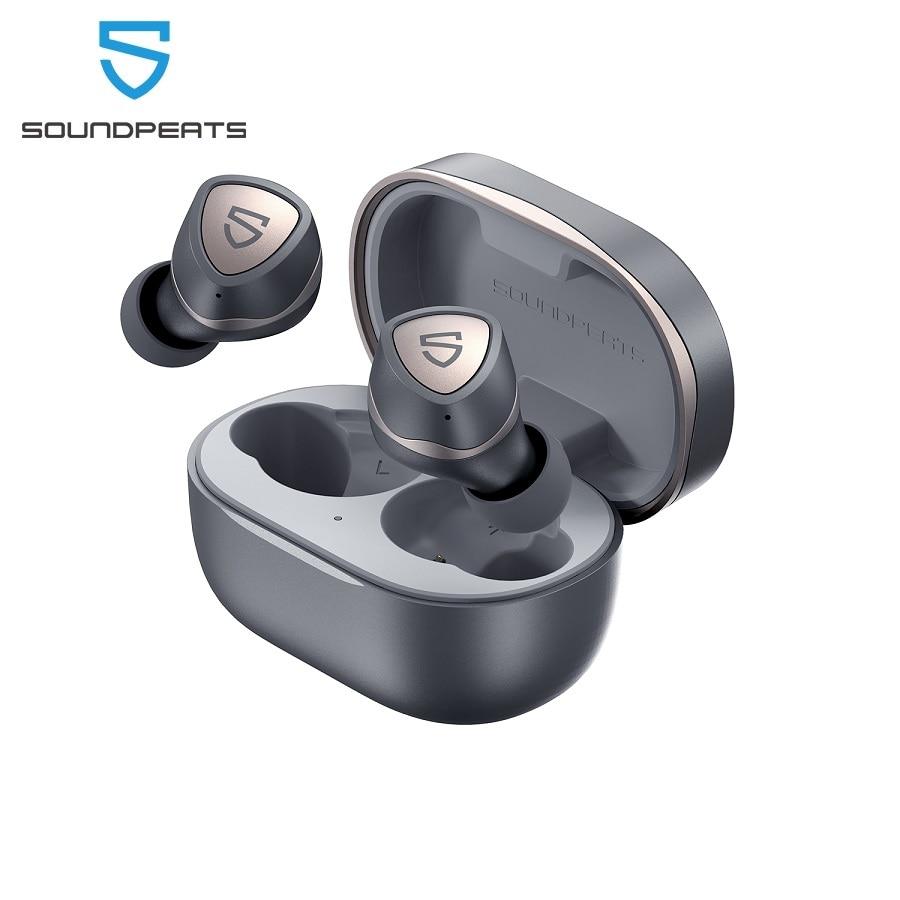 Беспроводные наушники Soundpeats Sonic Bluetooth 5,2, чипсет QCC3040, APTX-adaptive CVC 8,0, наушники-вкладыши с шумоподавлением, время воспроизведения 45 часов
