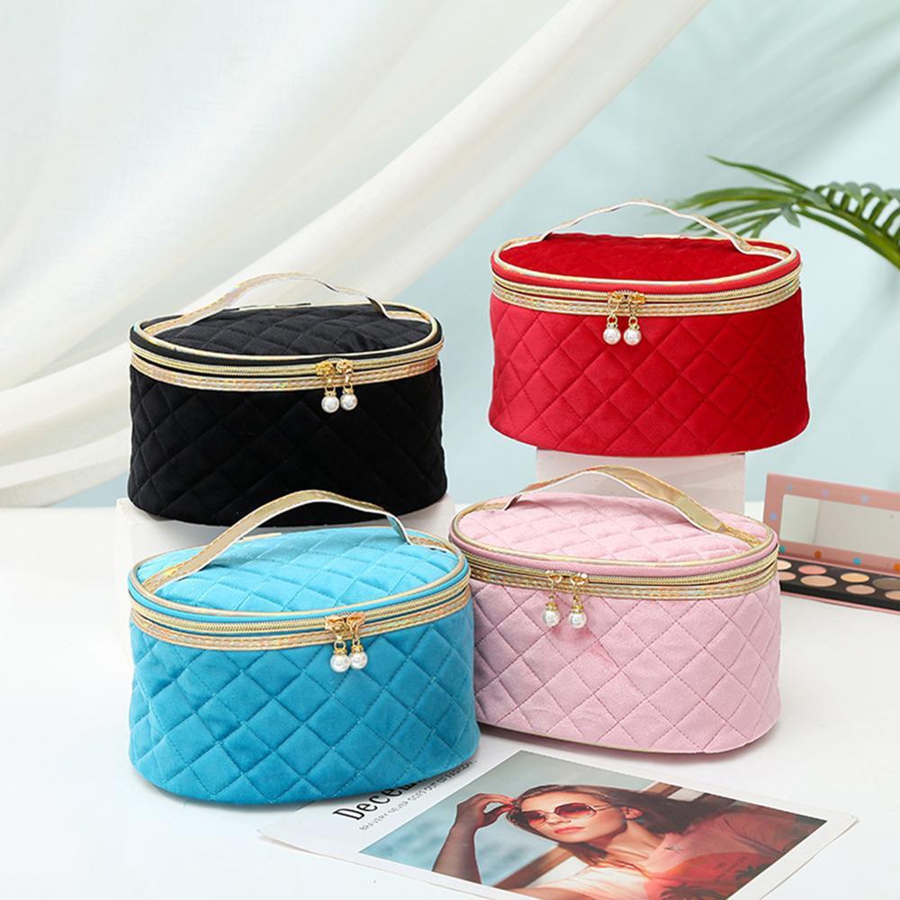 Brand Organizer Travel Fashion Lady Cosmetics Cosmetic Bag Beautician Storage Bags Large Capacity Women Makeup Bag