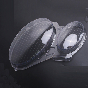 Image 2 - Auto Links/Rechts Scheinwerfer Objektiv Glas Abdeckung Für Benz W211 E240 E200 E350 E280 E300 2002 2008 Lampenschirm shell Lampcover Abdeckung
