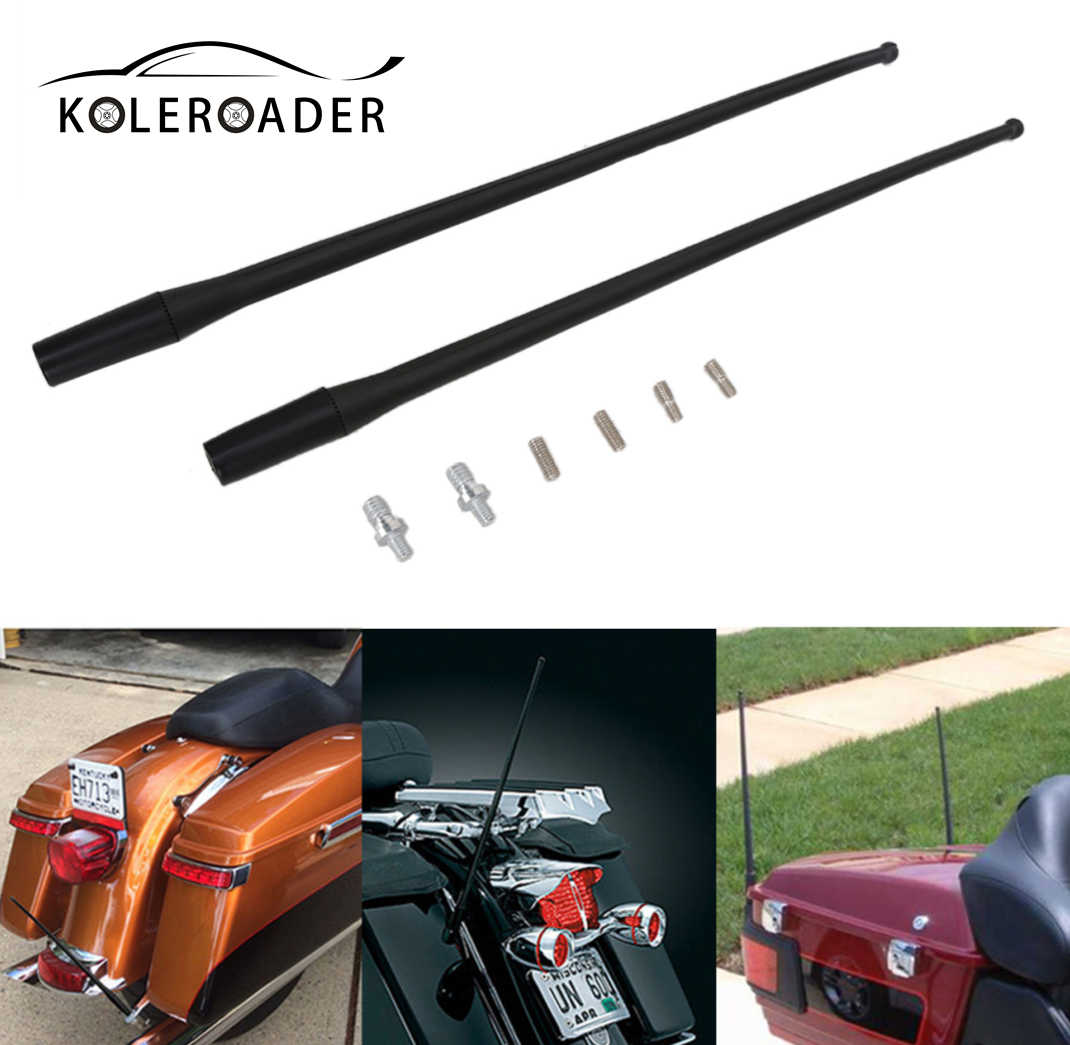 AM FM Antenna For Harley Tour Road Street Electra Glide 86-13 2012 Radio Rubber