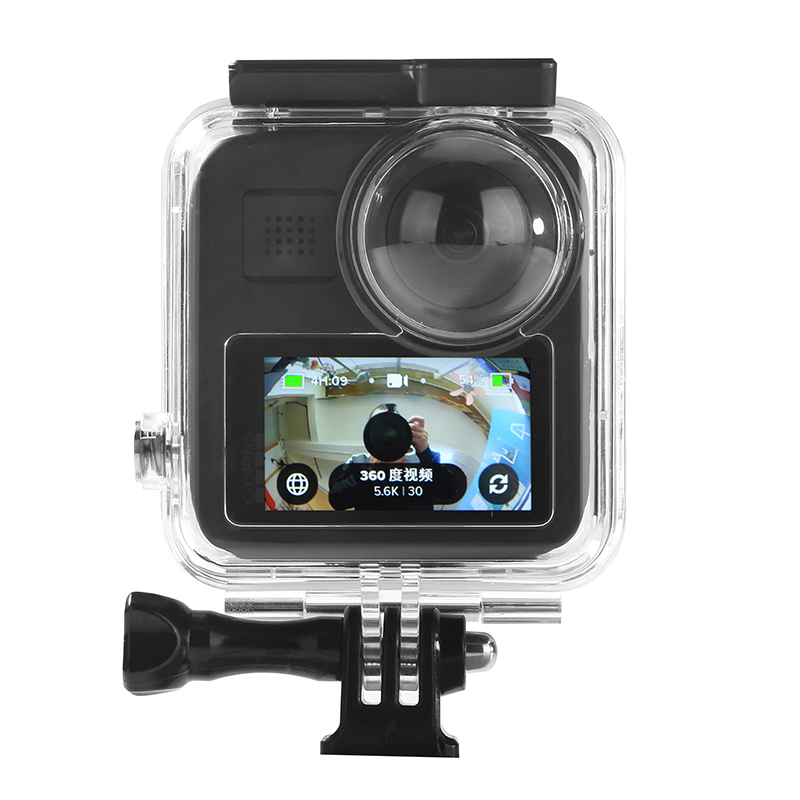 Waterproof Case For Gopro Max Waterproof Shell Panoramic Action Camera Diving Protective Box Gopro Max Accessories Diving Cover