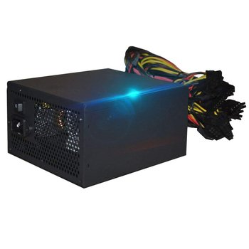 1800W PC Power Supply 1800W ATX PSU for RX470 RX580 RX570 RX560 Pico PSU Asic Bitcoin Miner ATX Mining Machine Support 6 GPU