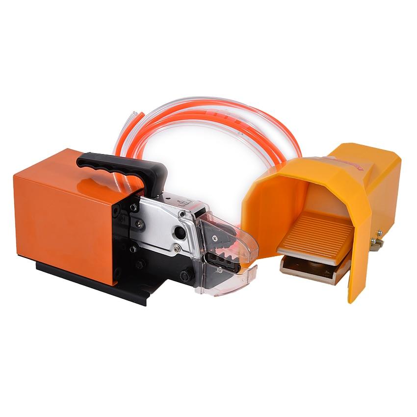 AM-10 Pneumatic Crimping Machine 13.5KN Portable Pneumatic Type Terminal Plier Crimp Machine High Quality Wire Crimper 0.4-1Mpa