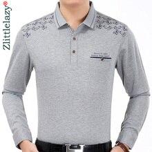 Dress Tee-Shirts Luxury Jersey Polos Pocket Long-Sleeve Men Casual Fashions Brand Fitness