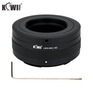 Image 5 - KIWIFOTOS LMA M42_NZ 69x34,3 мм объектив с ручным адаптером M42 крепление объективов для Nikon Z крепление корпуса Бесконечность фокус