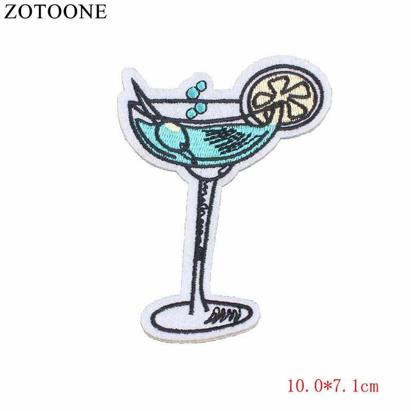 Parche ZOTOONE UFO con diseño de calavera y Tigre, Parche de hierro para coser, insignia para motocicleta, parches bordados baratos para motorista, adhesivo para ropa