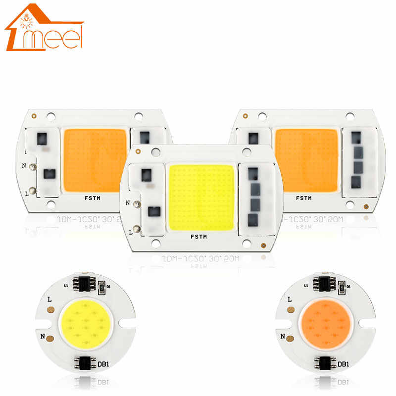 3W 5W 7W 10W 20W 30W 50W COB LEDชิปโคมไฟ 220V 240V LED COBโคมไฟหลอดไฟIP65 IC IC LED Spotlight Floodlight