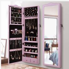 Европейский стиль туалетное зеркало получает шкаф настенный подвесной крепеж зеркало для спальни все зеркало в полный рост шкаф с украшениями cloakr
