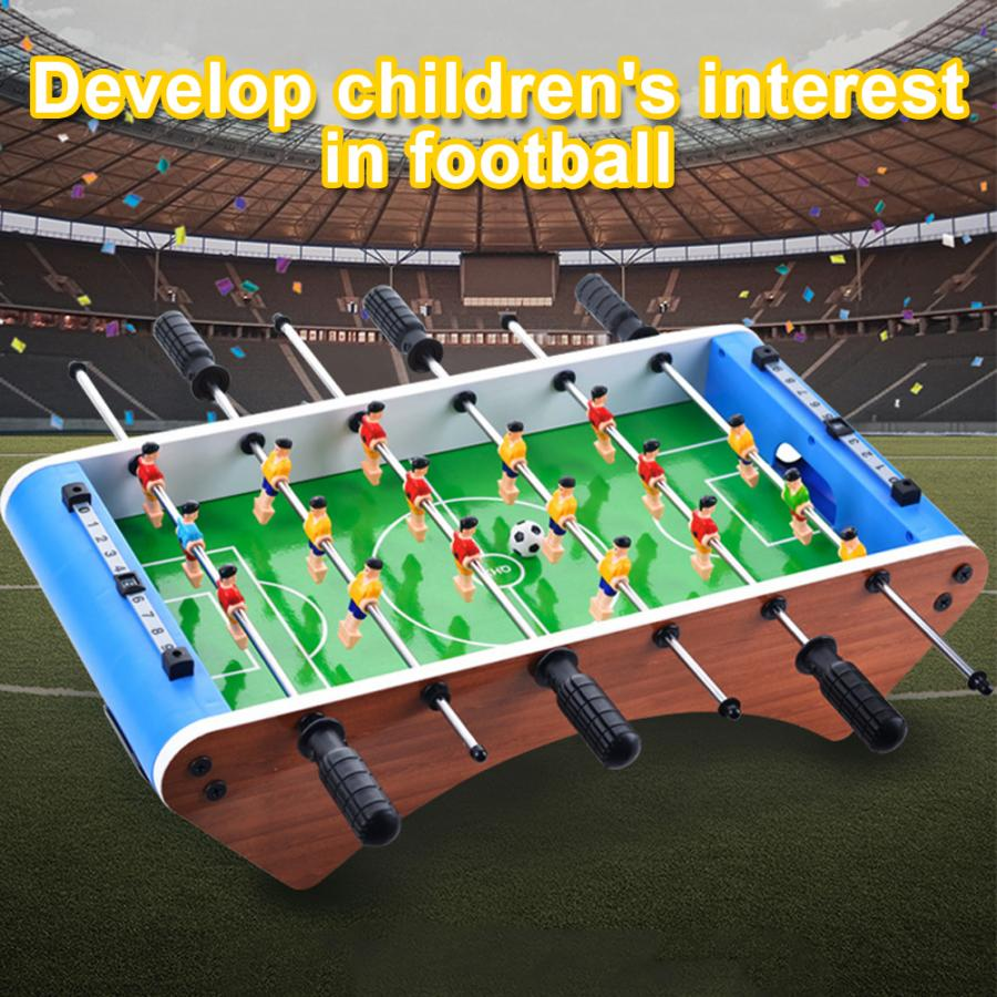 Table Football Soccer Game 6 Rods 12