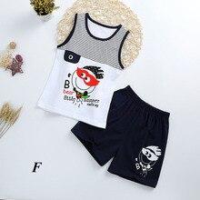 Fashionable Child's Sleepwear Cotton Pajamas Sets For Boy/Gi