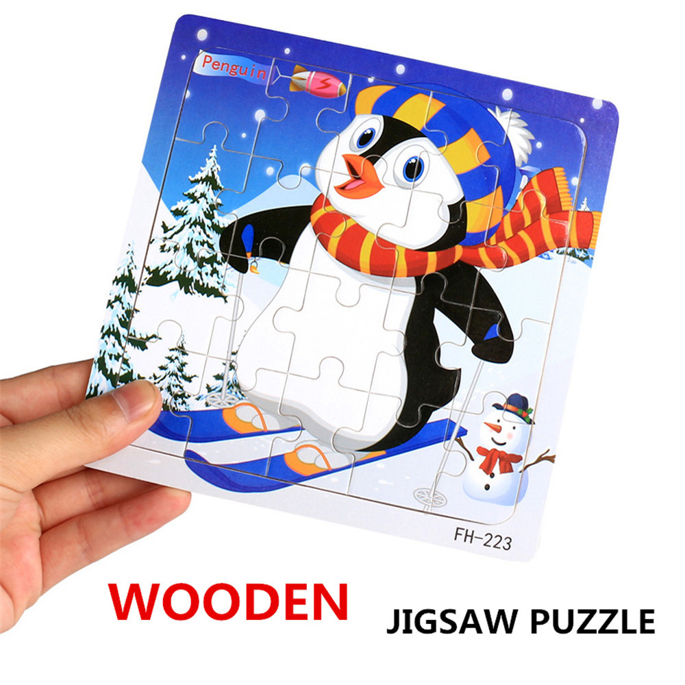 2020 New Children's Educational Toys Wooden Puzzle Educational Developmental Baby Kids Training Toy Christmas Gift L0120