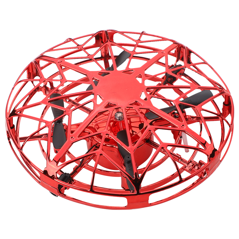 Mini Helicopter RC UFO Dron Aircraft Hand Sensing Infrared RC Quadcopter Electric Induction Toys for Children Mini Drone 2