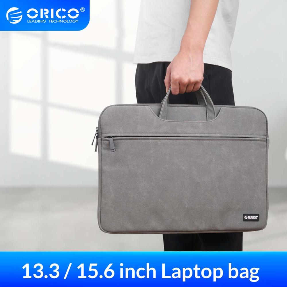 ORICO Business Handbag Notebook bag for Macbook Air Pro 13.3 15.6 PC Tablet Case Cover For Dell Acer Asus Laptop Sleeve Case