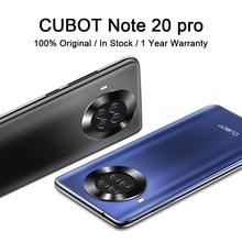 CUBOT not 20 Pro Smartphone arka Quad kamera 4200mAh pil NFC cep telefonu Android 10 çift SIM 4G LTE 6.5 ″ HD ekran telefon
