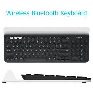 Image 3 - Беспроводная клавиатура Logitech K780 для ПК, компьютера, телефона, планшета, полноразмерная Бесшумная клавиатура, совместимая с Windows, Mac