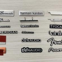 5X Алюминий для Dynaudio! JBL FOCAL harman/kardon MERIDIAN Fender Hi-Fi динамик аудио динамик значок стерео эмблема наклейка stying