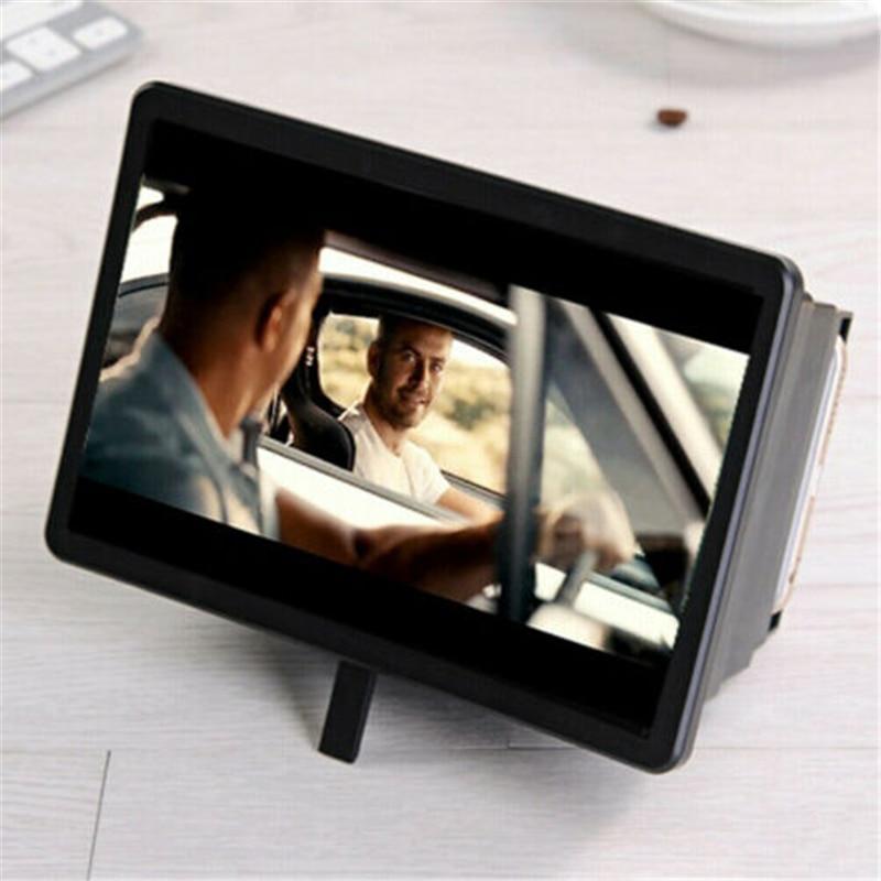 3D Video Smartphone Screen Magnifier Amplifier Enlarge Cellphone Screen Magnifier Amplifier For Huawei Iphone Samsung Gifts