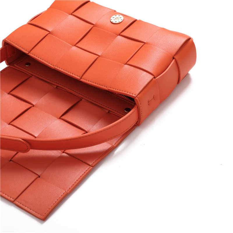 SXCNN Novo estilo de sacos de Ombro Das Mulheres de couro Genuíno Bolsas De Luxo Mulheres Sacos Designer de Grande treliça costura Sacos Crossbody
