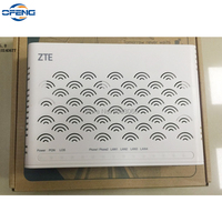 Горячая Распродажа Новый zte F420 EPON ONU ONT маршрутизатор 4 FE порт + 2 порта телефона для FTTH режимов английская прошивка