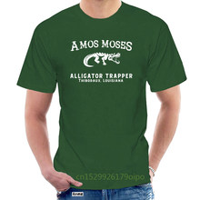 Amos Moses , Alligator Trapper Men'S T-Shirt, Jerry Reed Fan Shirt Retro Tee Shirt @060598