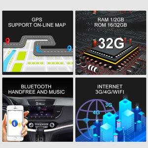 Image 3 - Rádio do carro de isudar para honda/crv/CR V 2012 2016 2 din android 9 autoradio multimídia gps dvr câmera ram 2gb rom 32gb usb rádio ips