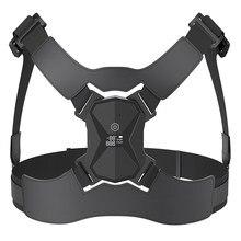 Nova postura corrector inteligente sensor lembrete de vibração ajustável clavícula peito volta ombro cinta cinto suporte voz