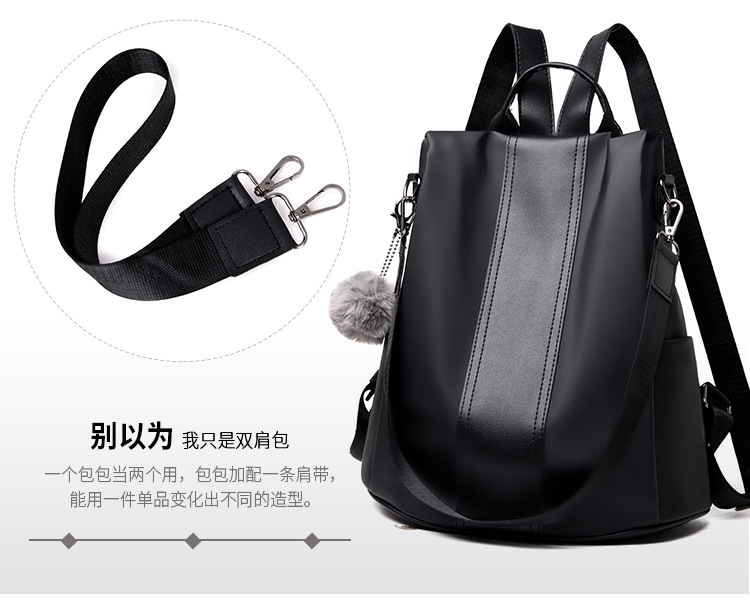 H12c094a164f94073aa05315bd9af7f81y 2019 Women Leather Anti-theft Backpacks High Quality Vintage Female Shoulder Bag Sac A Dos School Bags for Girls Bagpack Ladies