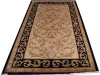 Dzianinowy dywan Home Decor ręcznie tkany antyczny wystrój wykwintny pokój biegacza dywan roślinnym wzorem naturalna wełna owcza w Dywany od Dom i ogród na
