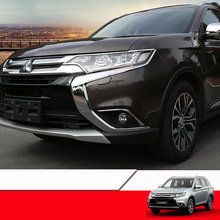Lsrtw2017 abs car front headlight cover trims for mitsubishi outlander 2013 2014 2015 2016 2017 2018 lsrtw2017 stainless steelcar 4wd frame trims for mitsubishi outlander 2013 2014 2015 2016 2017 2018