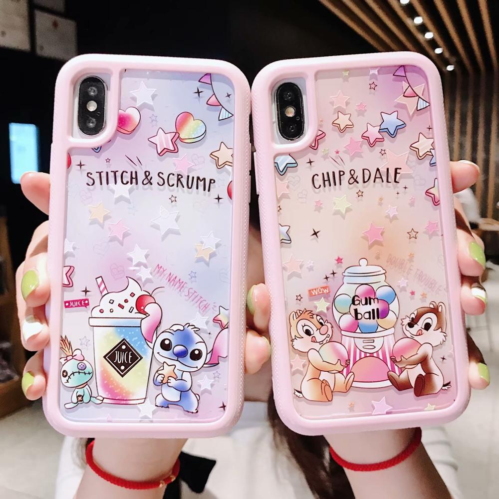 Cute Cartoon embossed three-in-<font><b>one</b></font> PC back plate <font><b>phone</b></font> case for iPhone 11 Pro X Xs MAX Xr 7 8 <font><b>6</b></font> 6S <font><b>Plus</b></font> anti-knock hard <font><b>cover</b></font> image