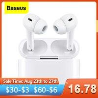 Baseus-auriculares inalámbricos W3 TWS, cascos Hi-Fi compatibles con Bluetooth, cancelación de ruido, para iPhone, Xiaomi, Huawei