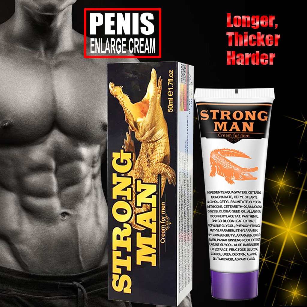 Strongman xxl penis grande penis ampliacao creme masculino penis extensor erecao realcador aumentar o crescimento oleo afrodisiaco viagra pilula