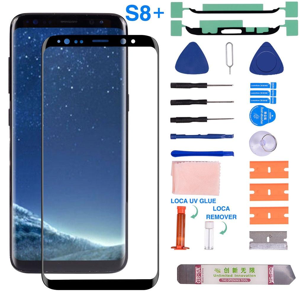Samsung S8 Plus professionelle Displayglas-Reparatur