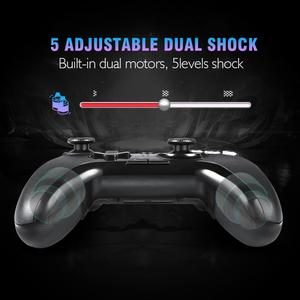 Image 4 - EasySMX ESM 9110 Wireless Gamepad Joystick For PC Windows 10 Android Phone TV/TV Box PS3 Vibration LED Customized Buttons