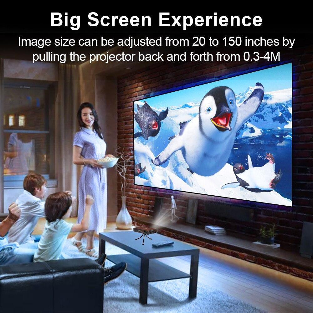 Caiwei s6w portátil bolso mini projetor dlp 3d led suporte completo hd vídeo wifi móvel beamer smartphone cinema em casa proyector-2