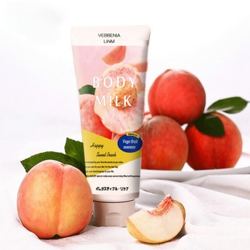200g Moisturize Tone Lasting Body Lotion Fragrance Peach Body Lotion Skin Care Moisturizing Brighten Skin