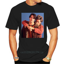 My Own Private Idaho Keanu Reeves River Phoenix 90s Black or White T-shirt Short Sleeve Casual Printed Tee Size S- T Shirt 5134A