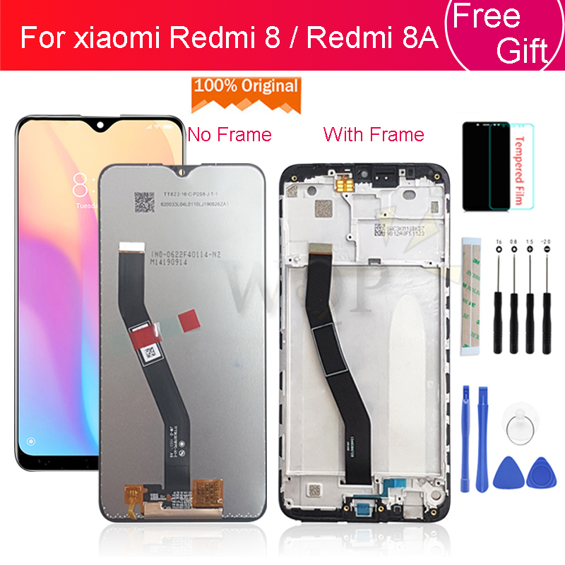 Original for xiaomi Redmi 8A display LCD touch screen digitizer Assembly for redmi 8 lcd with frame 10 Touch screen replacement title=